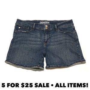 Levi's Denizen Cuffed Jean Shorts